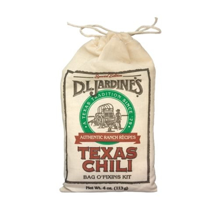 ardine's Texas Chili Bag O' Fixins Kit