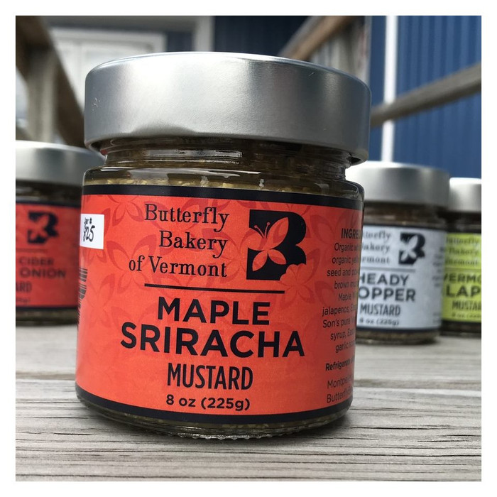 Butterfly Bakery VT | Maple Sriracha Mustard