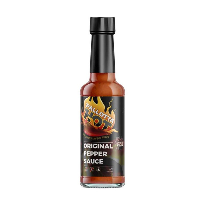 Pallotta Hot | Original Hot Sauce | Available online at Pepper Explosion Hot Sauce Store