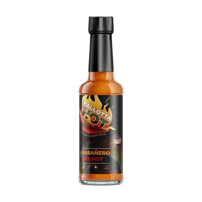 Pallotta Hot Habanero Fire Hot available at Pepper Explosion's online hot sauce store