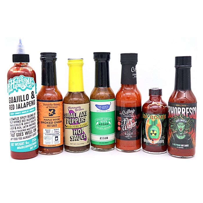 Hot Ones Season 7 Hot Sauces