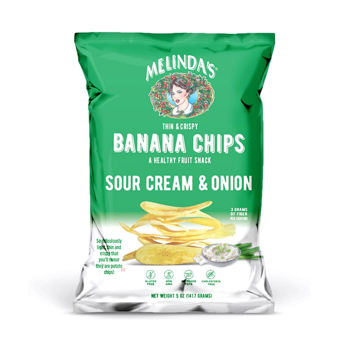 Melinda's Sour Cream & Onion Banana Chips