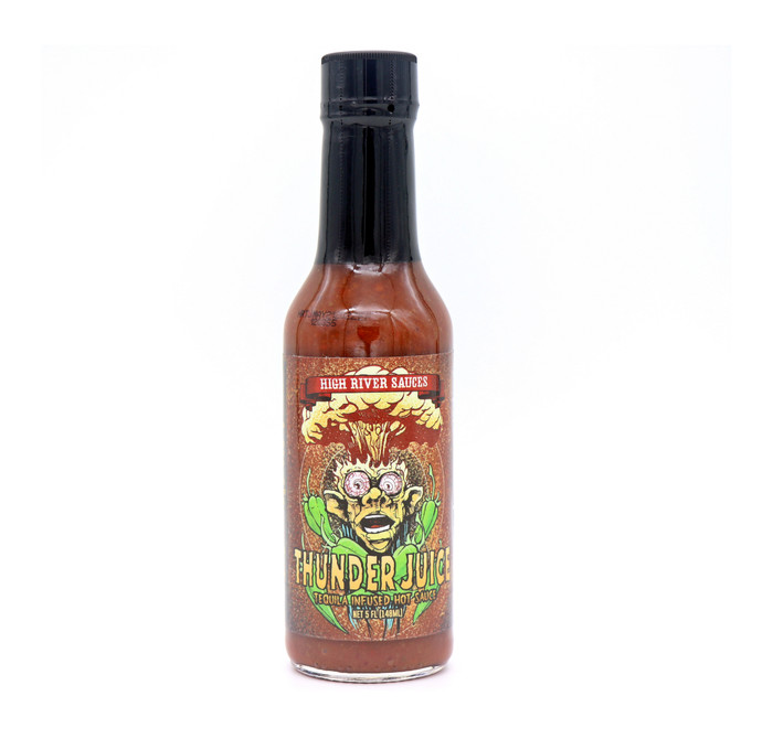 Thunder Juice Tequila-Infused Hot Sauce