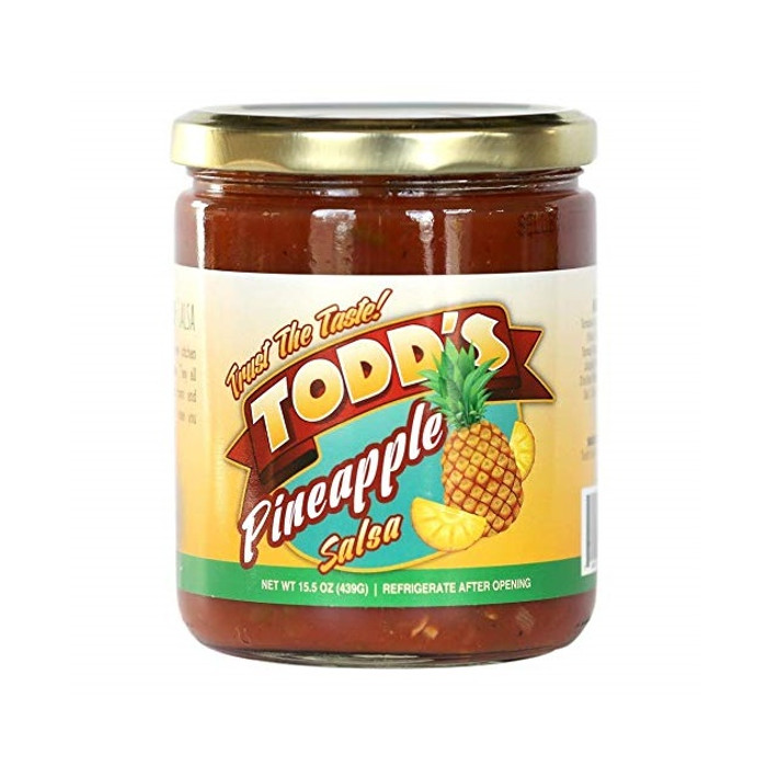 Todd's Pineapple Salsa