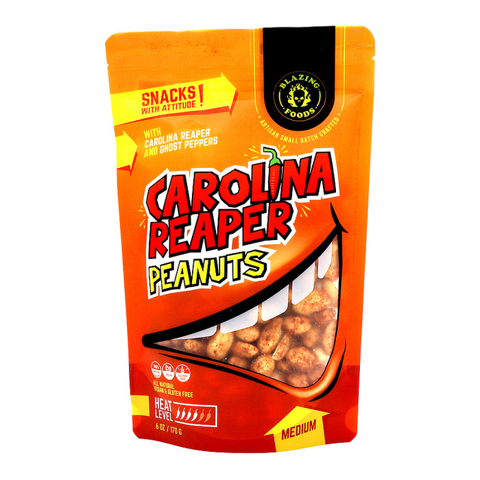 Carolina Reaper Peanuts (Medium)