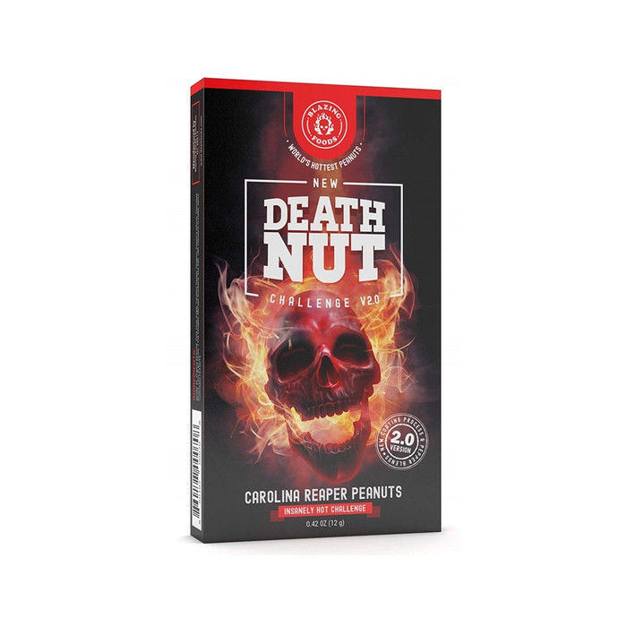 The Death Nut Challenge Version 2.0 Carolina Reaper