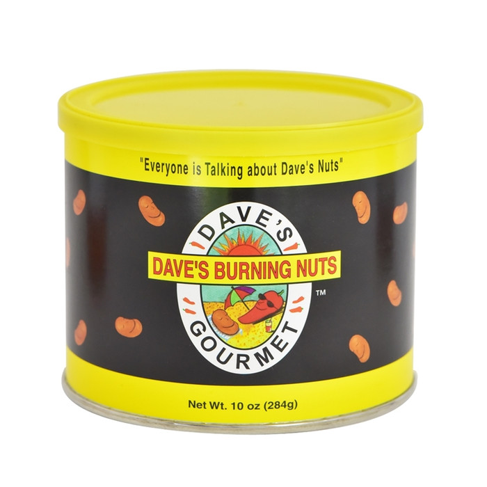 Dave's Gourmet Burning Hot Nuts
