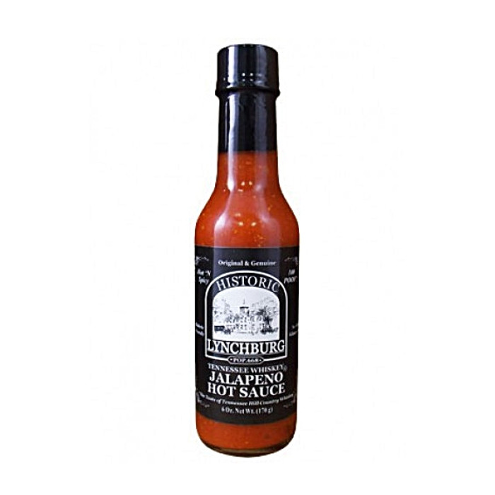 Historic Lynchburg Tennessee Whiskey Jalapeno Hot Sauce - Pepper Explosion