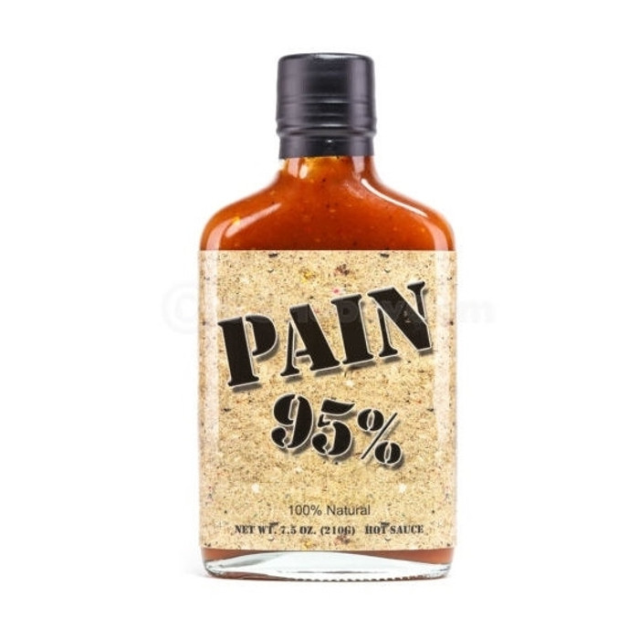 Pain 95% Hot Sauce PepperExplosion.com
