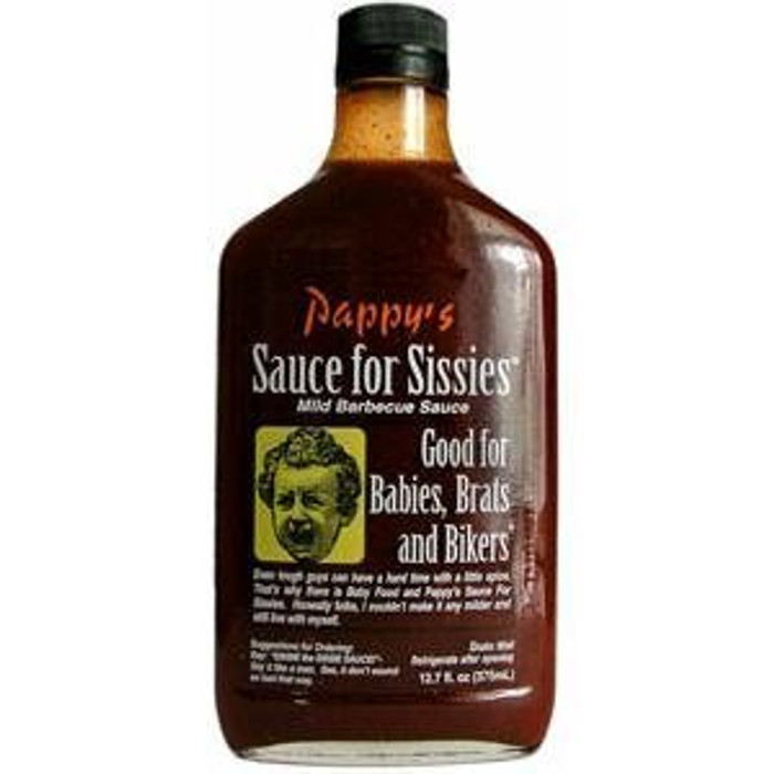 Pappy?ÇÖs Sauce For Sissies Mild Barbeque Sauce