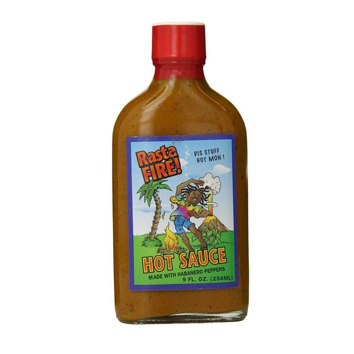 Rasta Fire Hot Sauce is available online at PepperExplosion.com