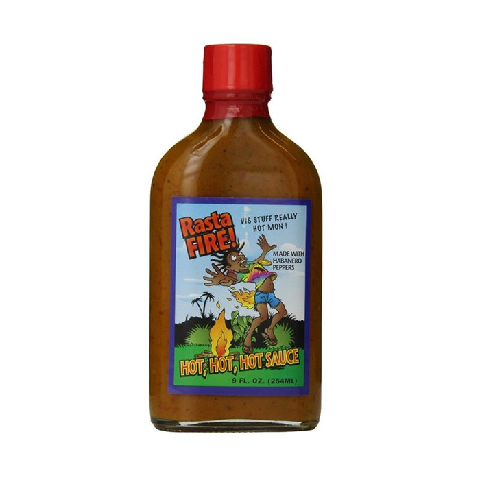 Rasta Fire Hot Hot Hot Sauce available at Pepper Explosion Hot Sauce Store