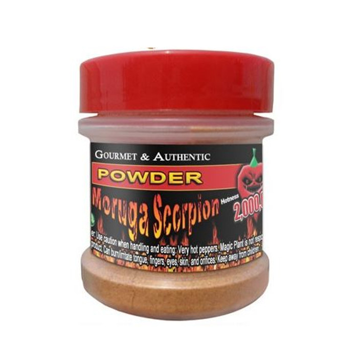 Moruga Scorpion Powder available at PepperExplosion.com