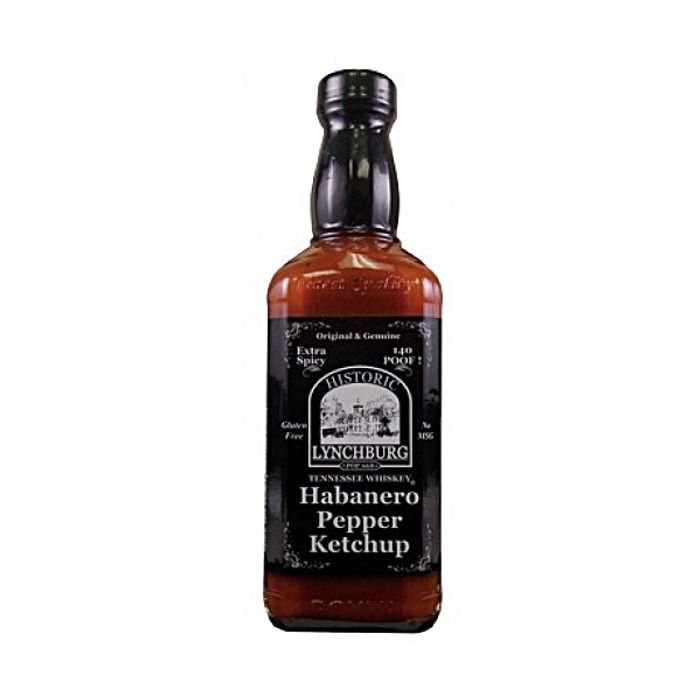 Lynchburg Tennessee Whiskey Habanero Pepper Ketchup available at PepperExplosion.com