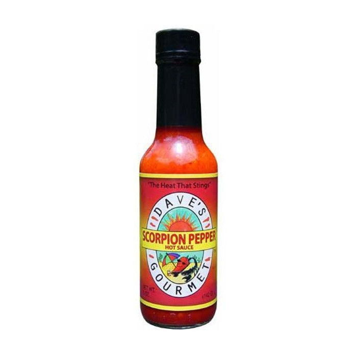 Daves Gourmet Scorpion Pepper Hot Sauce