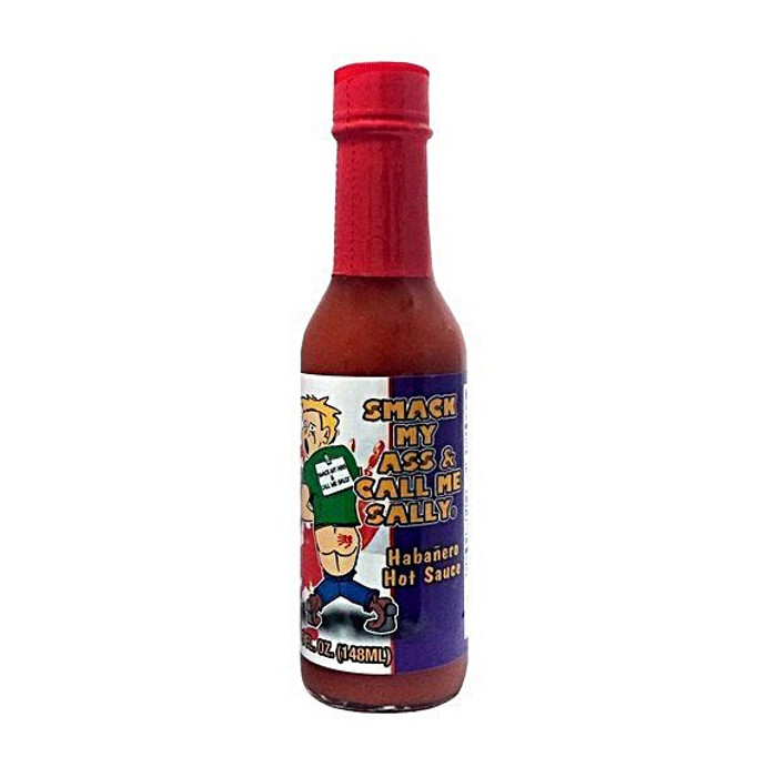 Smack My Ass & Call Me Sally Hot Sauce Habanero