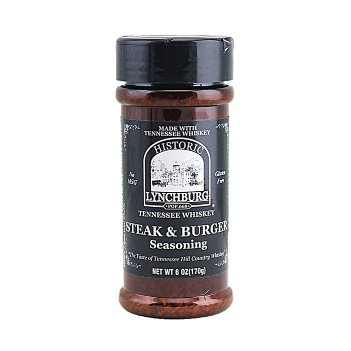 Lynchburg Tennessee Whiskey Steak and Burger Seasoning & Rub