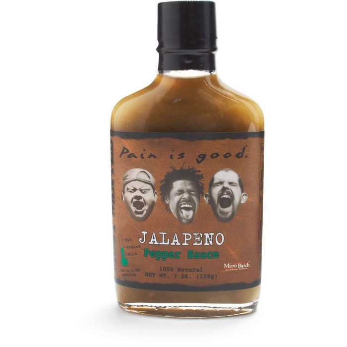 Pain Is Good Jalapeno Pepper Sauce  - fast shipping at Pepper Explosion