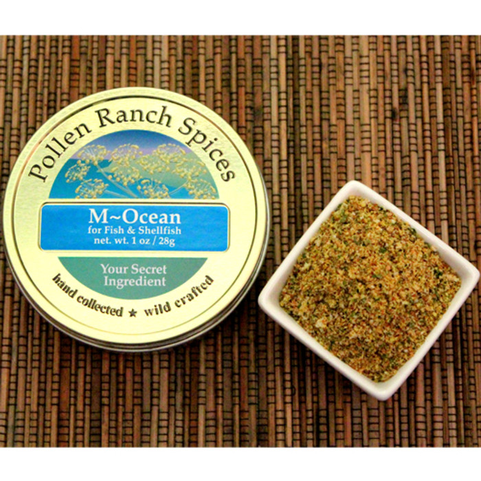 M-Ocean Fennel Seasoning available at PepperExplosion.com