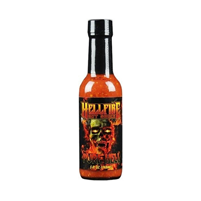 Hellfire's Pure Hell Hot Sauce  - Buys your bottle at Pepper Explosion