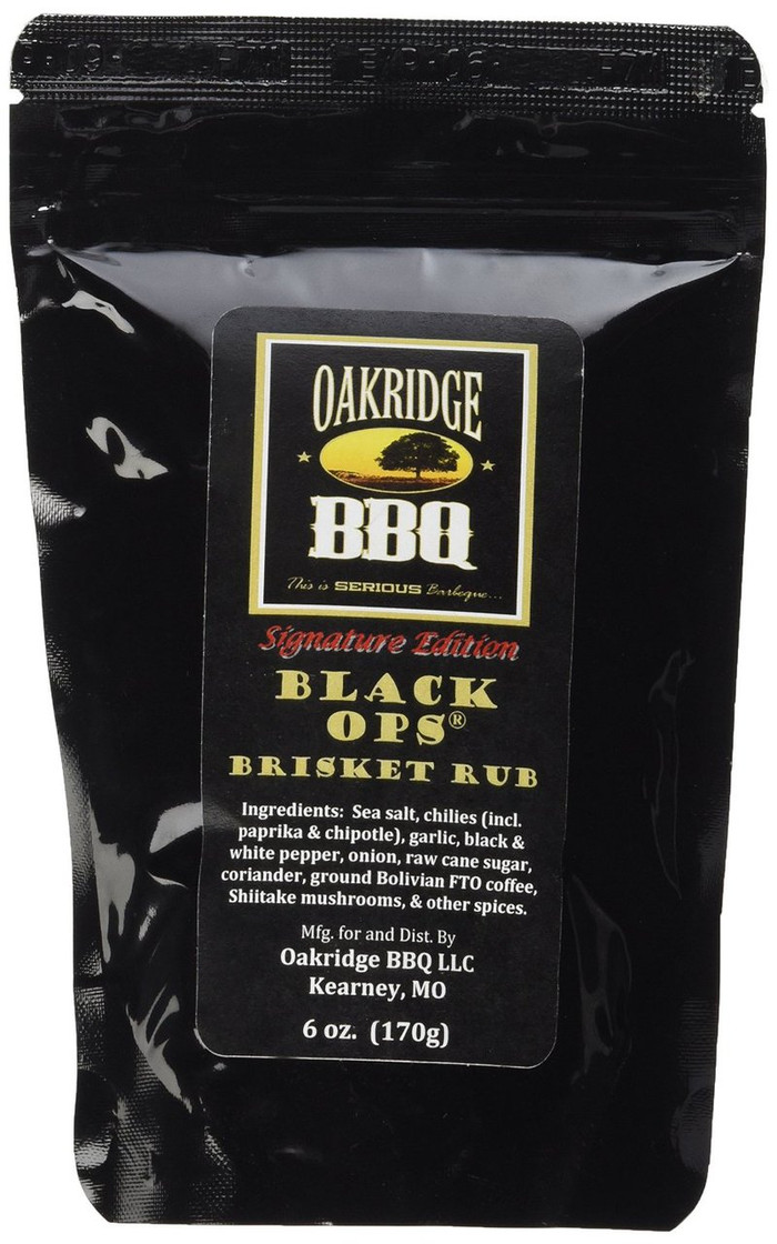 Oakridge BBQ Signature Edition Black OPS Brisket Rub - PepperExplosion.com