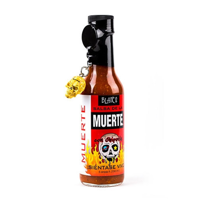 Blair's Salsa De La Muerte with Skull Key Chain