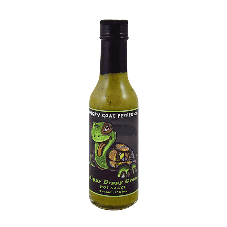 Angry Goat Hippy Dippy Hot Sauce - Pepper Explosion Hot Sauce Store