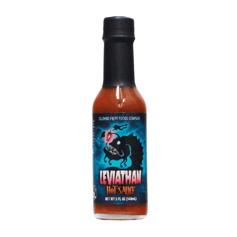 CaJohn's Leviathan Hot Sauce - purchase your bottle at Pepper Explosions online store PepperExplosion.com