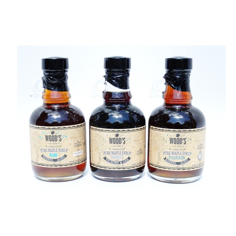 Wood's Vermont Pure Maple Syrup Gift Set