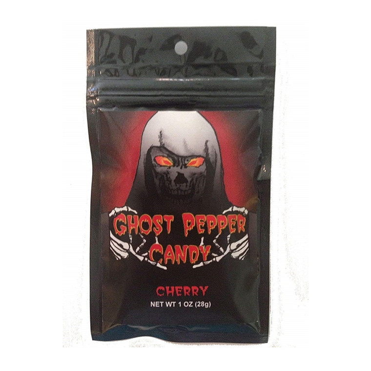 Flamethrower Cherry Ghost Pepper Candy