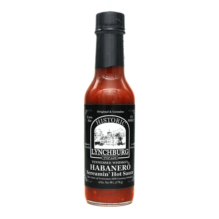 Historic Lynchburg Habanero Screamin' Hot Sauce
