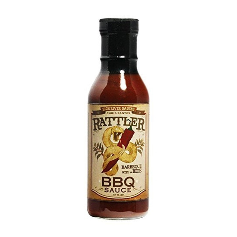 Rattler BBQ Sauce by Chef Chris Santos - buy at PepperExplosion.com