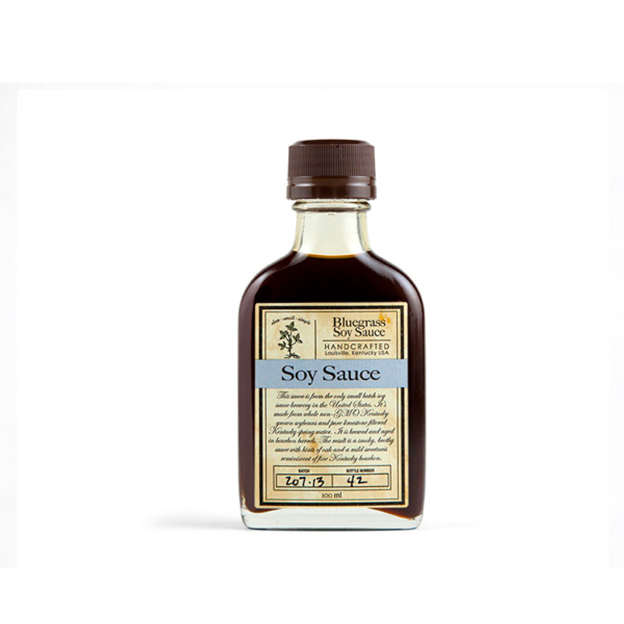 Bluegrass Soy Sauce by Bourbon Barrel Foods