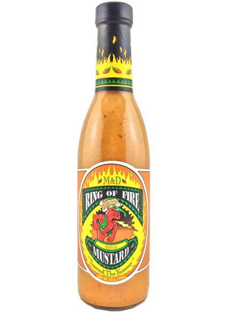Ring of Fire Spicy Mustard is available at Pepper Explosion