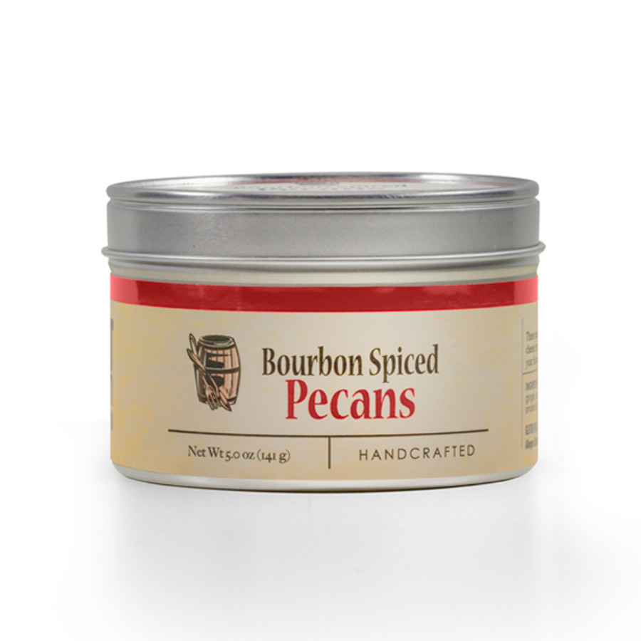 Bourbon Spiced Pecans available online at Pepper Explosion