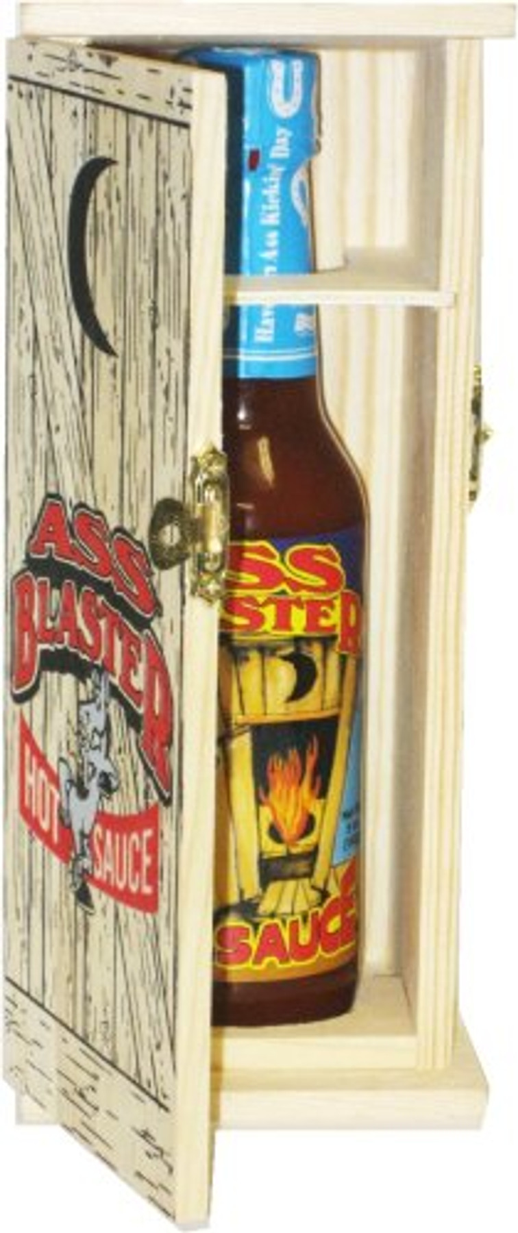 Ass Blaster Hot Sauce with Outhouse