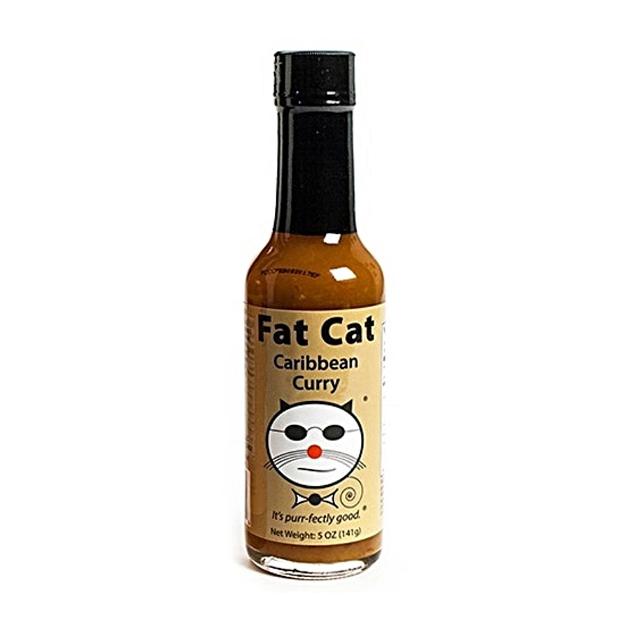 Fat Cat Caribbean Curry Sauce available online at Pepper Explosion Hot Sauce Store
