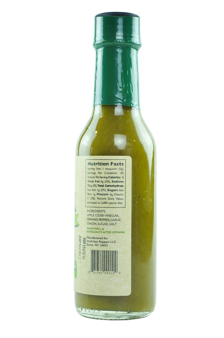 The Bronx Green Market Hot Sauce (Green)