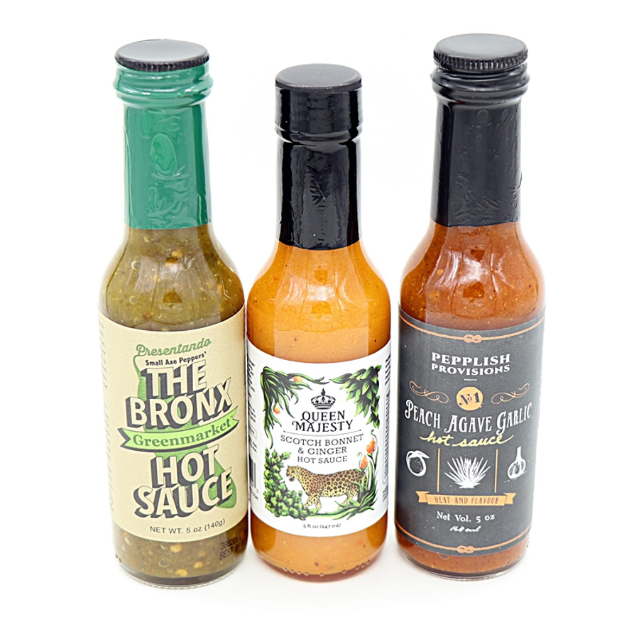 NYC Hot Sauces Combo