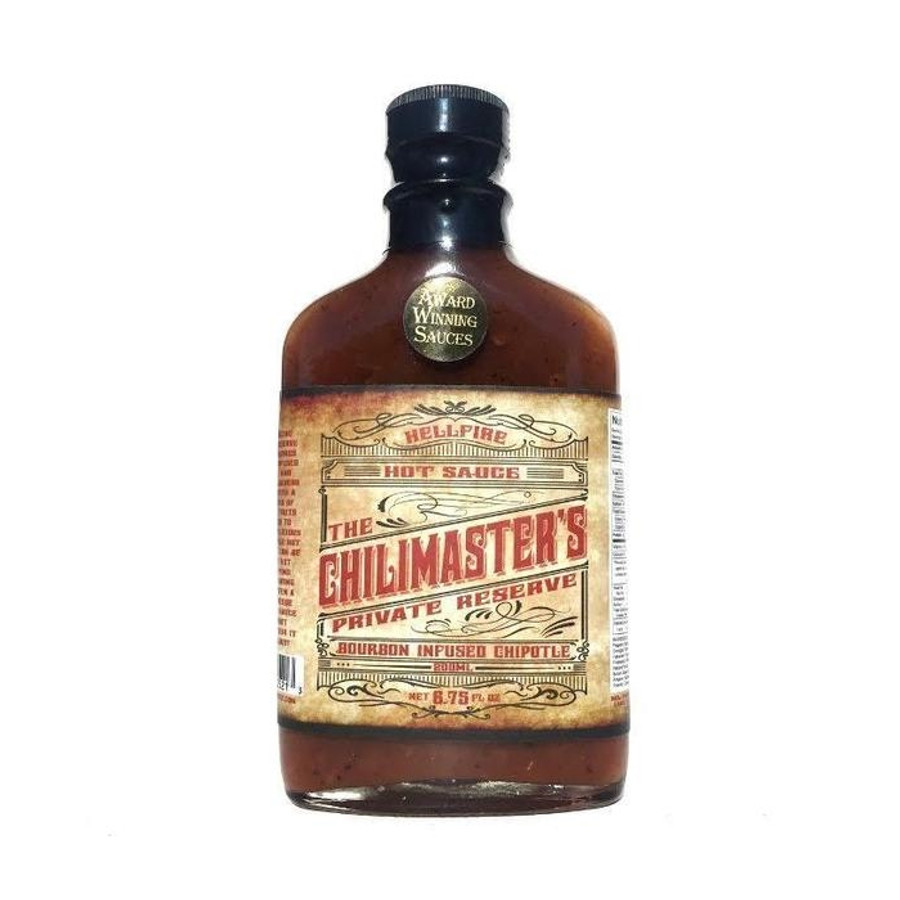 Chilimaster's Private Reserve - Bourbon Infused Chipotle Hot Sauce