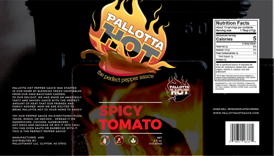 Pallotta Hot | Spicy Tomato
