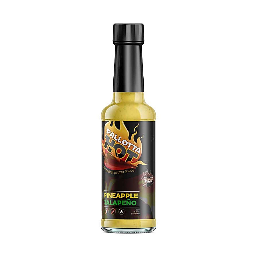 Pallotta Hot | Pineapple Jalapeno Hot Sauce