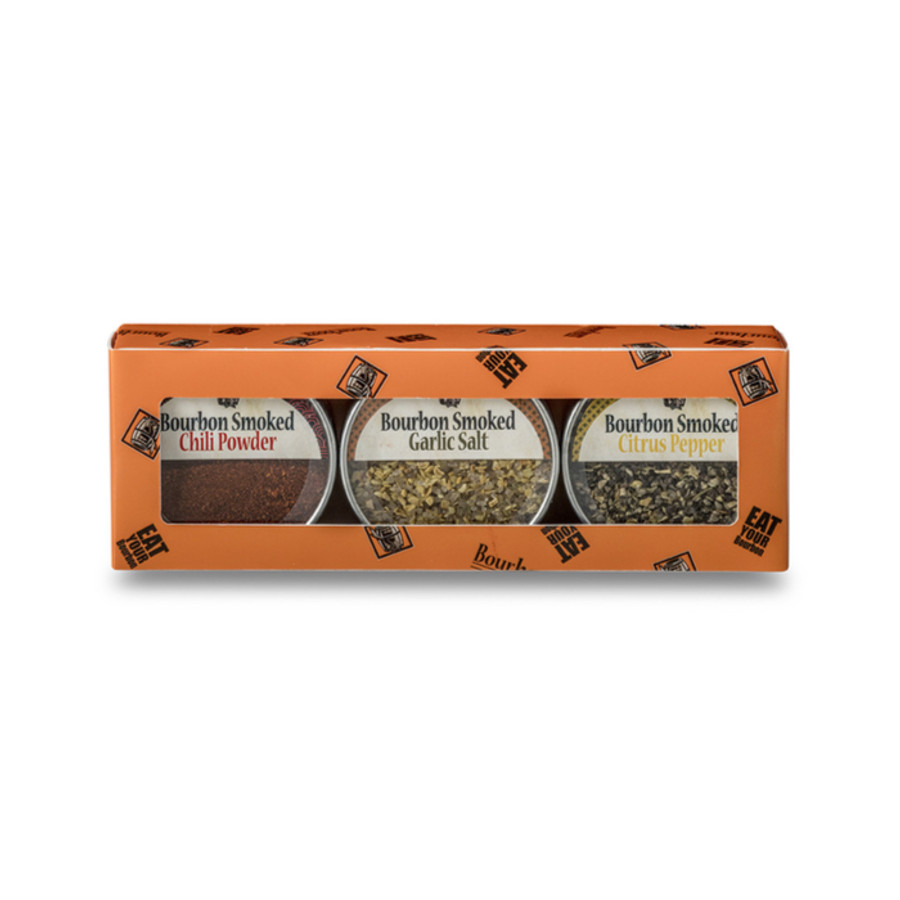Bourbon Smoked Spice Gift Pack - Set of 3 Spices