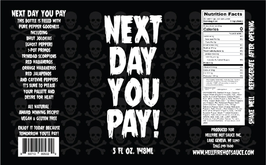 Hellfire | Next Day You Pay!
