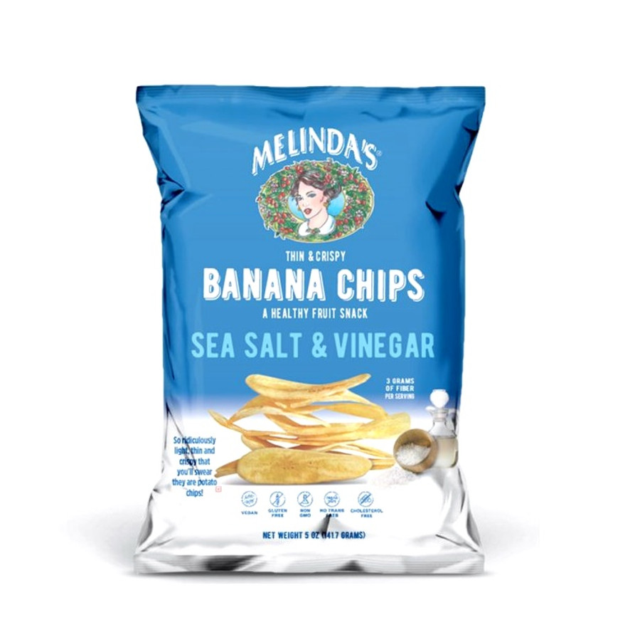 Melinda's Sea Salt and Vinegar Banana Chips