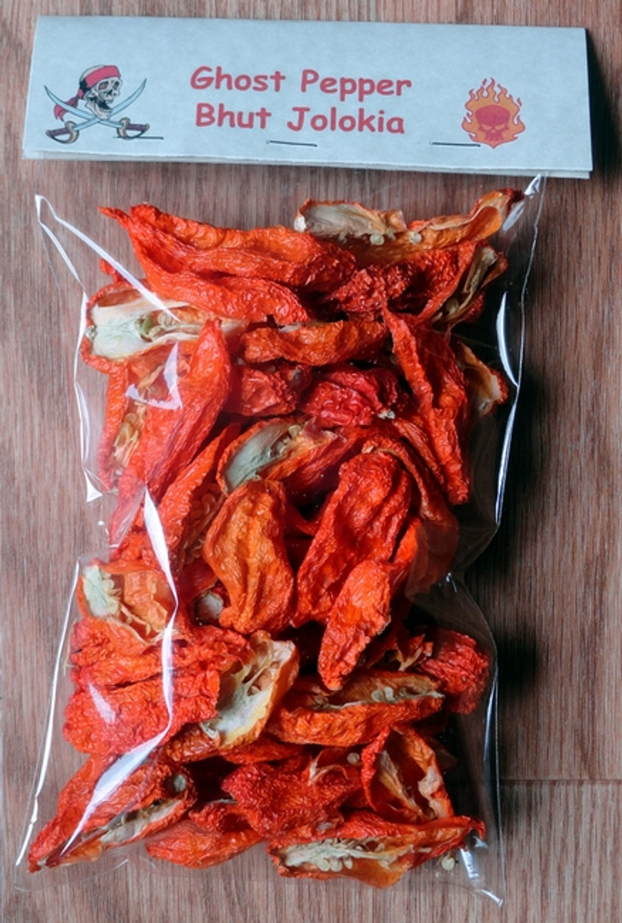 Dried, Ghost, Pepper, Bhut, Jolokia