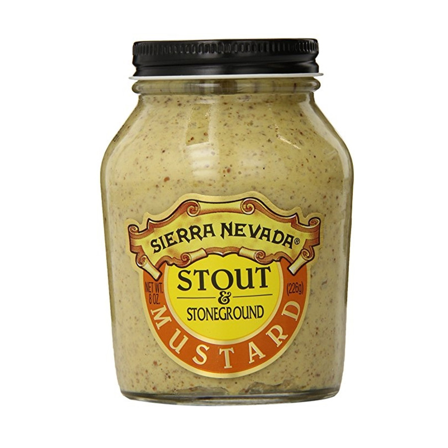 Sierra Nevada Stout and Stoneground Mustard, 8 Ounce
