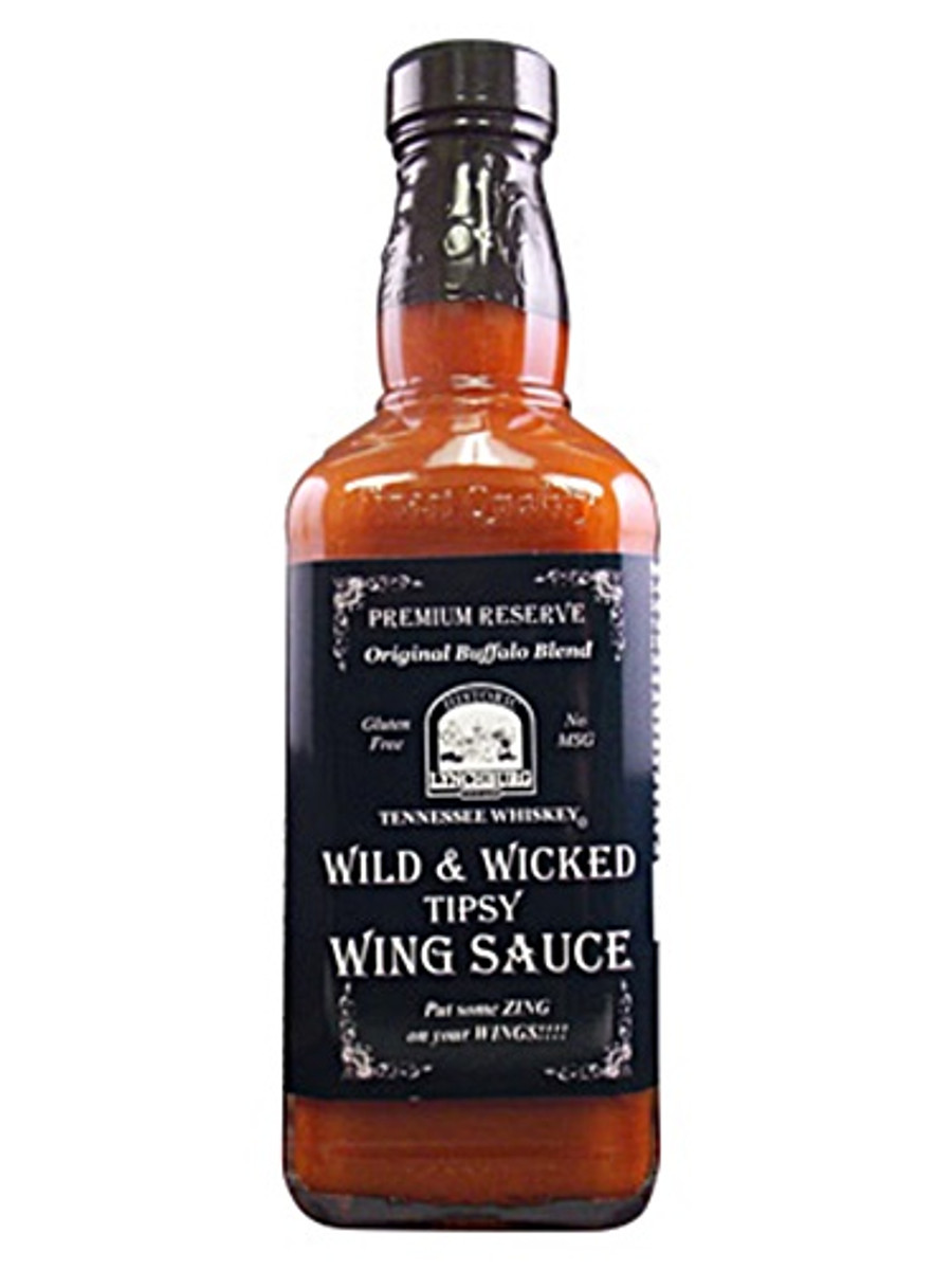 Lynchburg Tennessee Whiskey Wild & Wicked Tipsy Wing Sauce