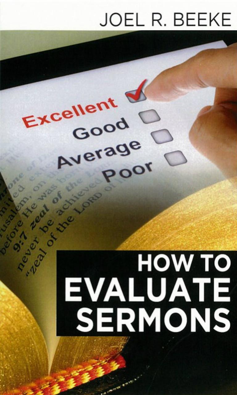 How to Evaluate Sermons (Beeke)