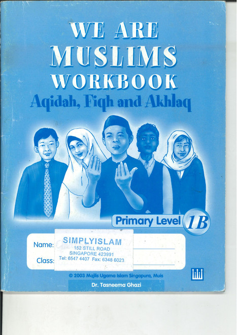 We Are Muslim Workbook 1B